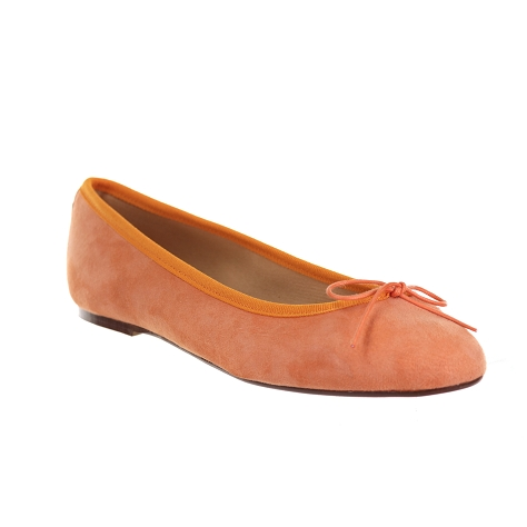 Champ de fleurs stefania611 orange Nubuck